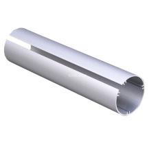 Extruded Aluminum Section Aluminium Tube Pipe Profile