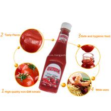 340G PE Ketchup de Tomate de Botella