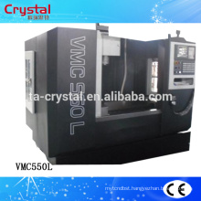 cnc lathe and milling machine machining center VMC550L Fanuc controller