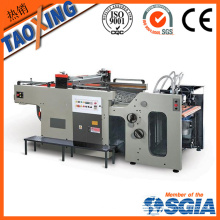 Couleur unique et page Machine automatique d'impression automatique pour autocollants en céramique usine directe