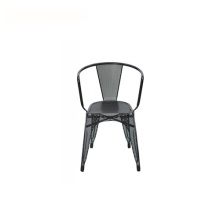 Outdoor Industrial Painted Steel Tarnish Tolix Fauteuil