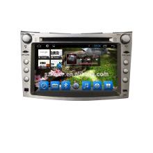 Quad core! Carro dvd com link espelho / DVR / TPMS / OBD2 para 7 polegada tela sensível ao toque quad core 4.4 sistema Android Subaru Forester