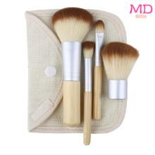 Bamboo 4 Pieces Makeup Brush Set (TOOL-181)