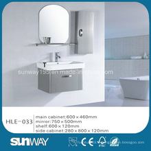 Hot Sell Silver Mirror Cabinet de salle de bains en acier inoxydable avec une bonne qualité