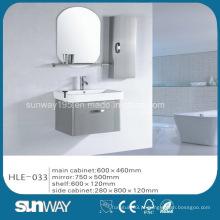 Hot Sell Silver Mirror Gabinete de banheiro de aço inoxidável com boa qualidade