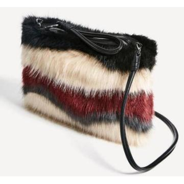Saco de ombro de moda, Nice Fur Design (WZX23633)
