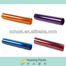 Transparent colored plastic sheets of HUAXING