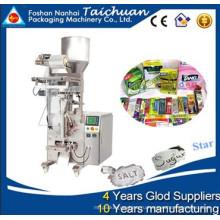Автоматический мерный стаканчик подходит для малых предприятий сахар гранулированный вертикальный поток упаковка упаковочная машина
