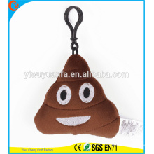 Hot Selling High Quality Different Style Plush Emoji Pillow Expression Keychain