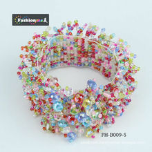 cute caterpillar pattern cheap kids stretch bracelets