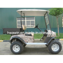 Cargo Bed Cheap 2 Seats Electric Hunting Golf Car for Sale