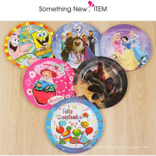 disposable christmas make kids party paper plate