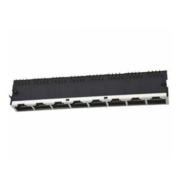 RJ45-Buchse Side Entry Shielded 1x8P Front 4.57