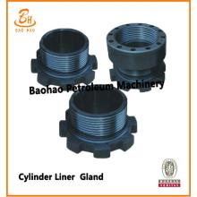 Seria F Bomco / Emsco Pump Parts Cylinder Liner Gland