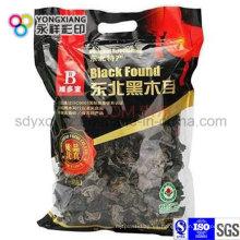 Embalaje de plástico hongo seco personalizado Bolsa plana