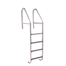 PINO hot sale three step ladder swimming pool ladder aluminium ladder for sale