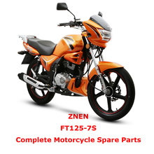 ZNEN FT125-7S Complete Motorcycle Spare Parts