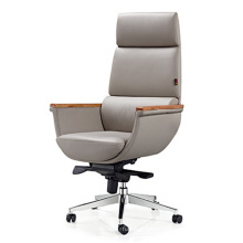 Neuer Entwurfs-hoher rückseitiger Swivel lederner Büro-Executiv-Chef-Stuhl (HF-HY2336)