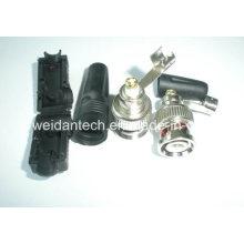 Soldered Free Zinc Shell BNC Plug