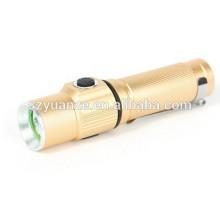 Мини-роскошный золотой цвет светодиодный фонарик, светодиодный мини-фонарик, мини-светодиодный фонарик