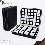 Leather Diamond Jewelry Portable Display Bag