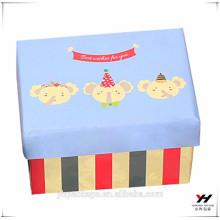 2018 moda diseño personalizado impreso embalaje regalo agradable caja de cartón