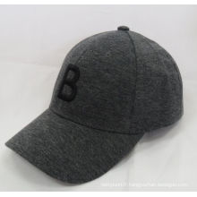 100% coton Jersey 2016 Nouveau chapeau de baseball en molleton de baseball casquette de sport (WB-080133)