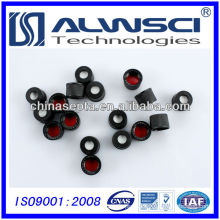 8mm black plastic cap for screw bottle