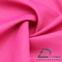 Vêtement de sport en plein air résistant à l'eau et au vent Down Jacket Tissu en polyester 100% poli jacquard (53091)