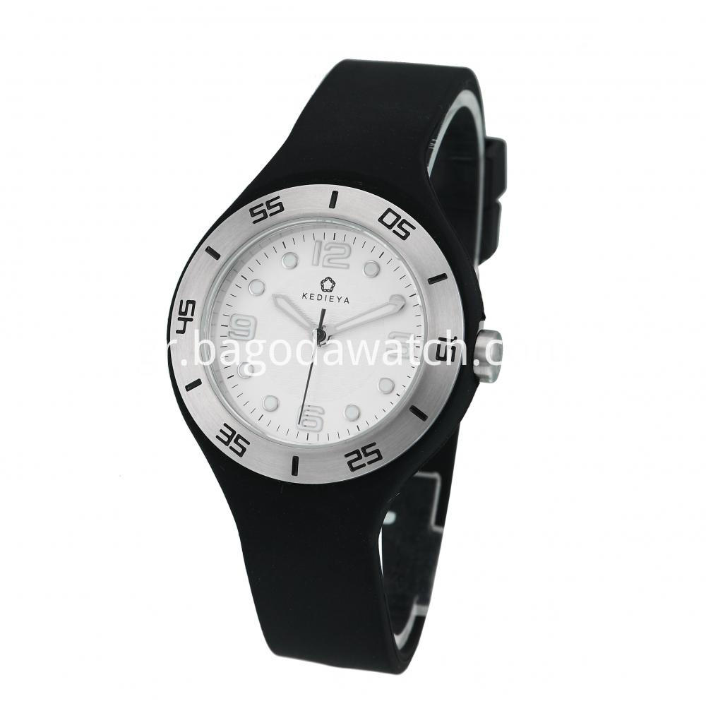 Silicone Strap Watches