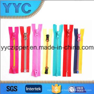 # 3- # 15 Plastic Zipper Fabricação Zipper plástico vendas preço barato
