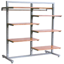 Factory directly selling commercial clothes racks wooden clothes rack clothing display racks