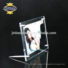 Jinbao cadre photo acrylique cadre photo 6mm pour la vente en gros