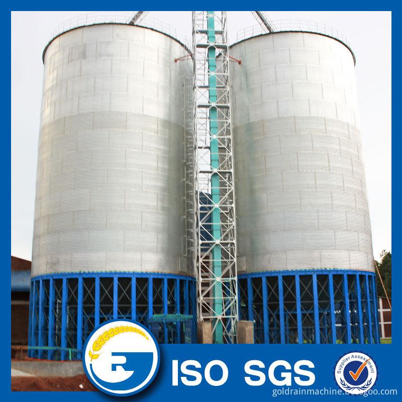 hopper bottom steel silo