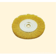 Crimped Wire Wheel Brush with Arbor Hole