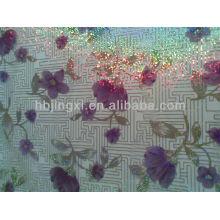 Feuille colorée de PVC pour la table basse