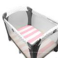 luvable ausgestattet Spickzettel Patchwork Bettlaken Designs Baby Größe wasserdicht Spannbettlaken