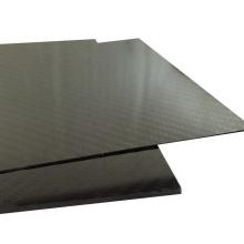 Good perfermence CNC cutting customized thickness 1mm 2mm carbon fiber plate