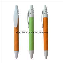 Farbe Recycling-Kugelschreiber als Werbegeschenk (LT-C495)