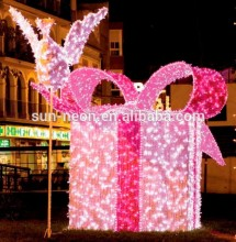 3d Led Christmas Box Gift Motif Lighting Boxes Custom Made Gift Boxes