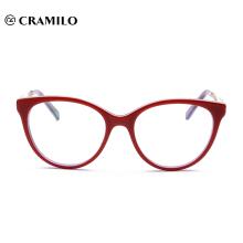 Lunettes de vue de fabricants chinois Eyewear Acétate