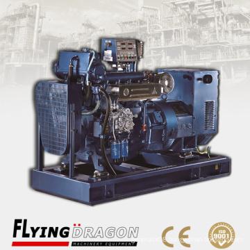 250KW Weichai marine genset diesel 6 cylinder engine driven by Weichai WP12CD317E200 engine with CCS BV certificate
