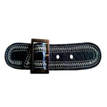 Großhandel echtes Leder Schleifen für Mantel (HJLP10)