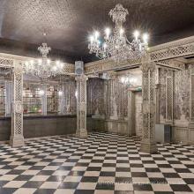 Lampe de lustre de palais personnalisée classique professionnelle