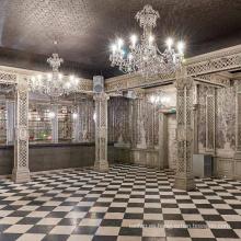 Lámpara de araña de palacio personalizada clásica profesional