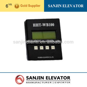 Hyundai ascensor herramienta de diagnóstico Ascensor, Hyundai herramienta de prueba hht-wb100