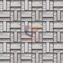15*48*6mm Silver Crystal Mosaic (TC345)