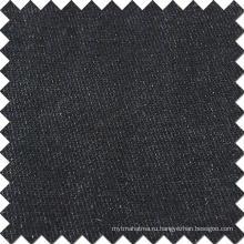 Черный хлопок вискоза полиэстер спандекс ткани для джинсы джинсы