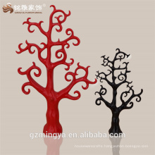 christmas tree outdoor garden home decerations The latest design red black and customized colors resin tree