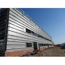 Stahlkonstruktionsgebäude (KXD-SSB1254)
